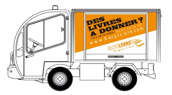 la recyclivre mobil arrive vente et collecte de livres d 39 occasion. Black Bedroom Furniture Sets. Home Design Ideas