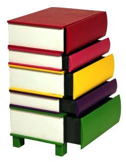 une table de chevet livresque vente et collecte de livres d 39 occasion. Black Bedroom Furniture Sets. Home Design Ideas